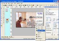 Advanced Business Card Maker installer screenshot