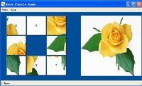 Rose Puzzle Game screenshot