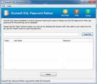 iSumsoft SQL Password Refixer screenshot
