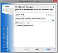 Find Duplicate Messages screenshot