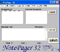 NotePager 32 screenshot