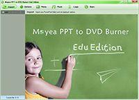 Moyea PPT to DVD Burner Edu Edition screenshot