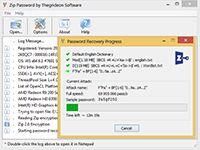 Zip Password screenshot