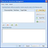 Outlook Attachment Management Tool screenshot