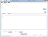 Duplicate Music Remover Free screenshot