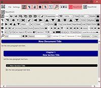 ConstEdit Html Word Processor screenshot