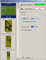 Animated Captures Maker screenshot