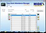 Time Clock Attendance Manager