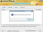 SysInfoTools Add Outlook PST