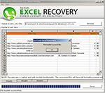 Recover Excel File Error