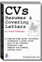 CVs, Resumes & Covering Letters