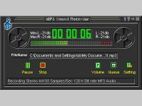 Фото Power MP3 Recorder (MP3 Sound Recorder). скриншот Power MP3 Recorder (
