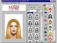 MAGGI-Hairstyle and Make-up Software
