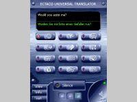 ECTACO Voice Translator English -> Spanish / French / German