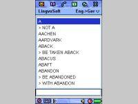 LingvoSoft Dictionary English <-> German for Sony Ericsson P800/P900
