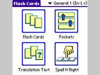 ECTACO FlashCards English <-> Latvian for Palm OS