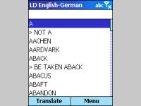 LingvoSoft Dictionary English <-> German for Microsoft Smartphone