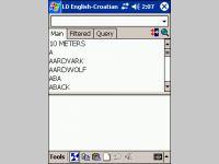 LingvoSoft Talking Dictionary English <-> Croatian for Pocket PC