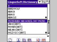 LingvoSoft Talking Dictionary English <-> Polish for Palm OS