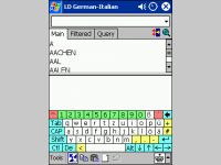 LingvoSoft Dictionary German <-> Italian for Pocket PC