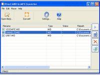Direct MIDI to MP3 Converter