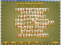 Championship Mahjongg Solitaire Game for Windows PC