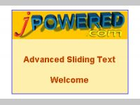 Advanced Sliding Text Software