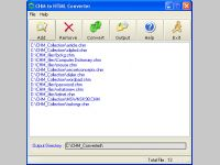 CHM to HTML Converter