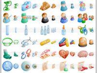 Medical Toolbar Icons