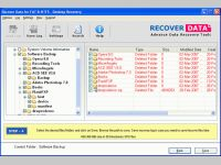 Deleted Folder Recovery