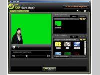 123VideoMagic Green Screen Software