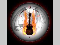 Fire Guitar Tuner
