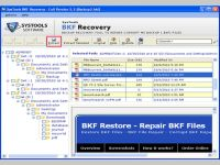 Complete BKF Recovery
