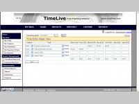 TimeLive timesheet  software