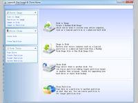 Lazesoft Disk Image & Clone Home