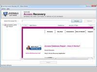 Repair Deleted Access Files