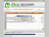 Recover Excel File Error