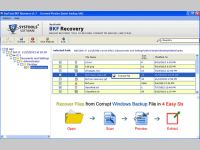 Advance MS Backup File Recovery Tool