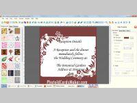 Wedding Cards Maker Program