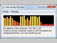 LAN Audio Monitor