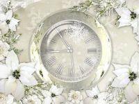 Silver Clock Screensaver