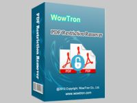 WowTron PDF Restrictions Remover